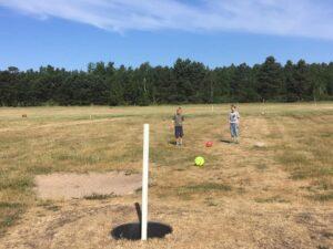 Fodboldgolf - Odsherred fx Højby, Nykøbing Sjælland, Rørvig, Vig,